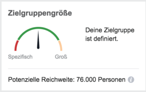 Zielgruppendefinition Digitales Marketing Facebook