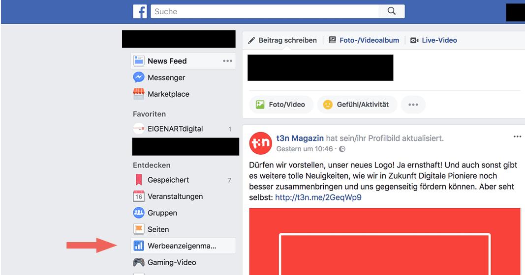 lokales onlinemarketing - facebook werbeanzeigenmanager